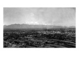 Tucson  Arizona - Panoramic View of City