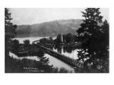Chatcolet  Idaho - Oregon and Northwestern Railroad Bridge