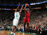 Miami Heat v Boston Celtics - Game Four  Boston  MA - MAY 9: Dwyane Wade and Jeff Green