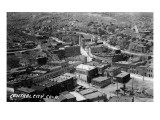 Central City  Colorado - Aerial View of Town
