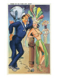 Pin-Up Girls - When Do We Take off Babe; Navy Officer Flirts with Cabaret Dancer