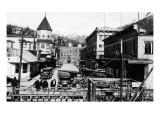 Ketchikan  Alaska - View of Dock Street