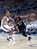 Memphis Grizzlies v Oklahoma City Thunder - Game Five  Oklahoma City  OK - MAY 11: OJ Mayo and Er