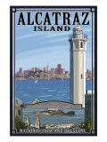 Alcatraz Island and City - San Francisco  CA