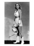 Cowgirl Portrait - Jean Arthur