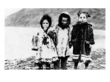 Alaska - Native Children in Parkas