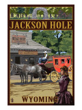 Jackson Hole  Wyoming Stagecoach