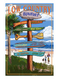 Beaufort  South Carolina - Sign Destinations