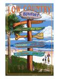 Beaufort  South Carolina - Sign Destinations