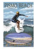 Surfer Day Scene - Pismo Beach  California