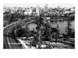 Los Angeles  California - Aerial View of Gen Douglas Mac Arthur Park