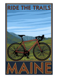 Maine - Bicycle Scene
