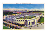 Buffalo  New York - Buffalo Civic Stadium View