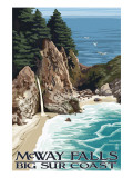 McWay Falls - Big Sur Coast  California