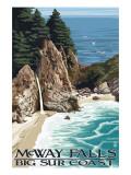 McWay Falls - Big Sur Coast  California