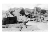 Rocky Mt Nat'l Park  Colorado - Red Rocks Park; View of a Red Rocks Pueblo
