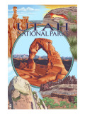 Utah National Parks - Delicate Arch Center