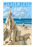 Myrtle Beach  South Carolina - Sandcastle
