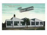 Dayton  Ohio - Wright Brothers Airship Factory Exterior