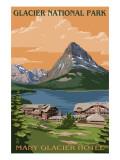 Many Glacier Hotel - Glacier National Park  Montana