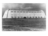 Moffett Field  California - Giant Hangar Exterior