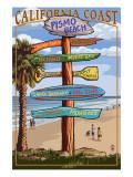 Pismo Beach  California - Destination Sign