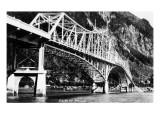 Alaska - View of the Douglas Bridge