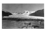 Alaska - View of Mendenhall Glacier