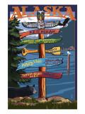 Ketchikan  Alaska - Destination Sign