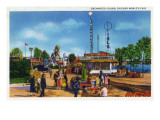 Chicago  Illinois - Worlds Fair; Enchanted Island Scene