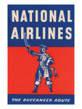 Nation Airlines - the Buccaneer Route