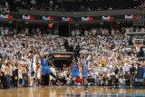 Oklahoma City Thunder v Memphis Grizzlies - Game Four  Memphis  TN - MAY 9: Mike Conley and Kendric