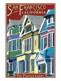 San Francisco  California - Painted Ladies