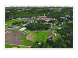 Clemson  South Carolina - Clemson College and Stadium Aerial View