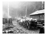 Milwaukee Road Construction Camp  Circa 1906