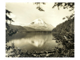 Mount St Helens From Spirit Lake  1923