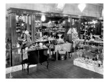 Interior of Syman's Jewelry Store  1926
