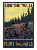 Port Gamble  Washington - Mountain Bike