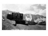 Colorado - Continental Divide at Loveland Pass near Dillon