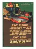 """Eat More Corn  Oats and RyeTo Save For the Army and Our Allies""  1918"