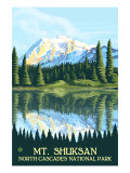Mount Shuksan - North Cascades National Park  WA