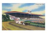 Arlington Heights  Illinois - Horse Race at Arlington Race Track