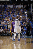 Los Angeles Lakers v Dallas Mavericks - Game Three  Dallas  TX - MAY 6: Jason Terry and Pau Gasol