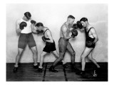 YMCA Boxing Class  Circa 1930
