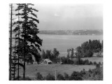 Seattle From Medina  1916