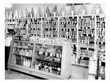 Berg & Sons Food Store Interior  1935
