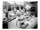 Inside a Barber Shop  1927