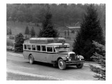 Motor Bus at Point Defiance Park  1927