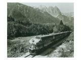 Great Northern on the Skykomish  Circa 1955