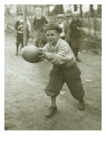 Boy with Football  Early 1900s
